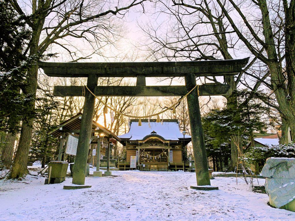 氏神神社と12月の開運日